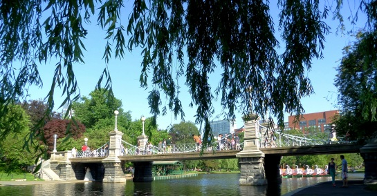 Bridge in Boston Common