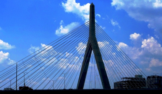 Leonard P. Zakim Bunker Hill Memorial Bridge, Boston, MA