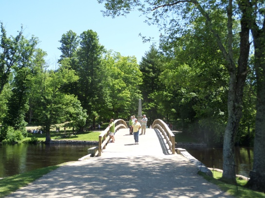 Old North Bridge, Minuteman National Park, Concord, MA