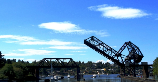Drawbridge near Ballard Locks, WA