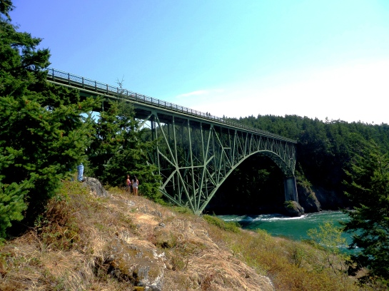 Deception Pass, Washington, bridge